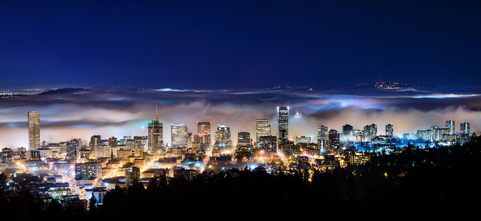 PortlandNight_scape